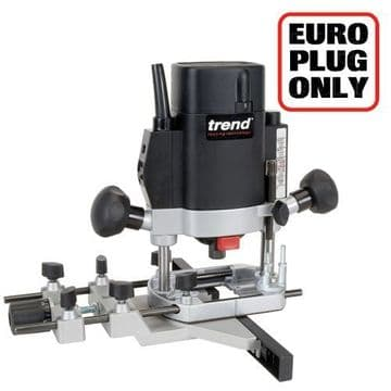 Trend 1000W 8mm Variable Speed Router 240V - Authorised distributors only